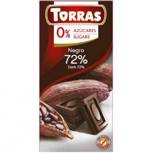 Chocolate negro 72% CACAO